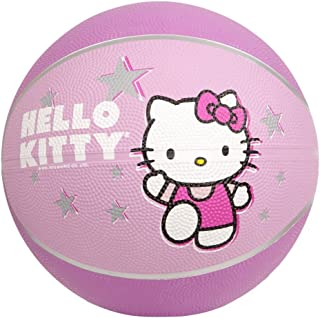 Hello Kitty Sports Mini Basketball, 7-Inch, Pink