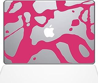 "The Decal Guru 0165-MAC-13X-BG Paint Splatter Blood Vinyl Sticker, 13"" Macbook Pro (2016 & newer), Pink"