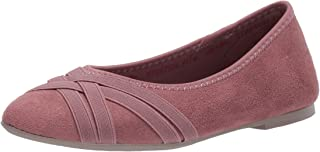 حذاء مسطح كليو لين تشينج مزين بشرائط متقاطعة للنساء من سكيتشرز