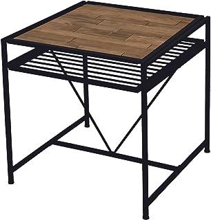 B.Bファニシング ダイニングテーブル ブラウン 幅75×奥行77.1×高さ75cm GRDT-750