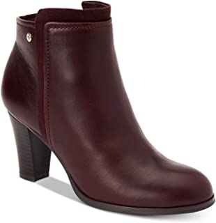 Womens Bellee Closed Toe Ankle Fashion Boots, Oxblood, Size 9.5