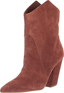 Dolce Vita Women's NESTLY Ankle Boot, Brandy Suede, 7.5