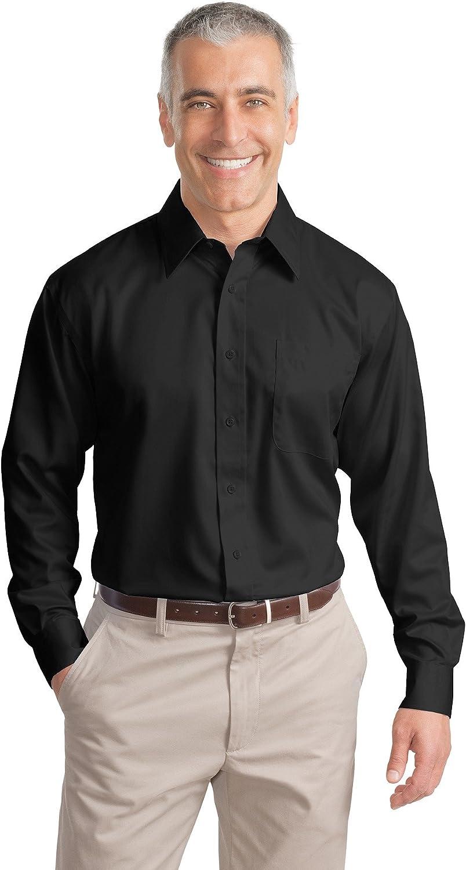 Port Authority Men's Tall Long Sleeve Non Iron Twill Shirt