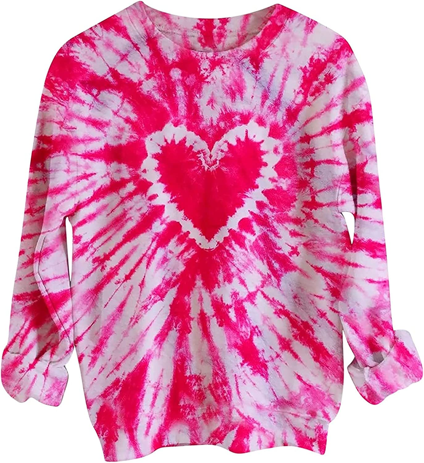 Women lowest price Colorful Printed Live Popular popular Sweater Long Casual Sleeve Shi Print