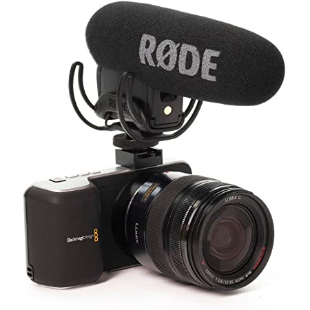 Rode Microphones VideoMic Pro Compact Shotgun Microphone, 200 Ohms - Bundle - with Deadcat VMP Furry Wind Cover for VideoMicPro