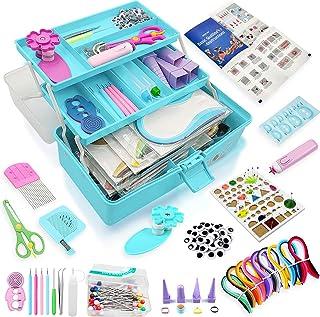 Syzopq Papier pour Quilling kit Complet Kit de quilling de papier pour débutants, outils de quilling, kit de démarrage de ...