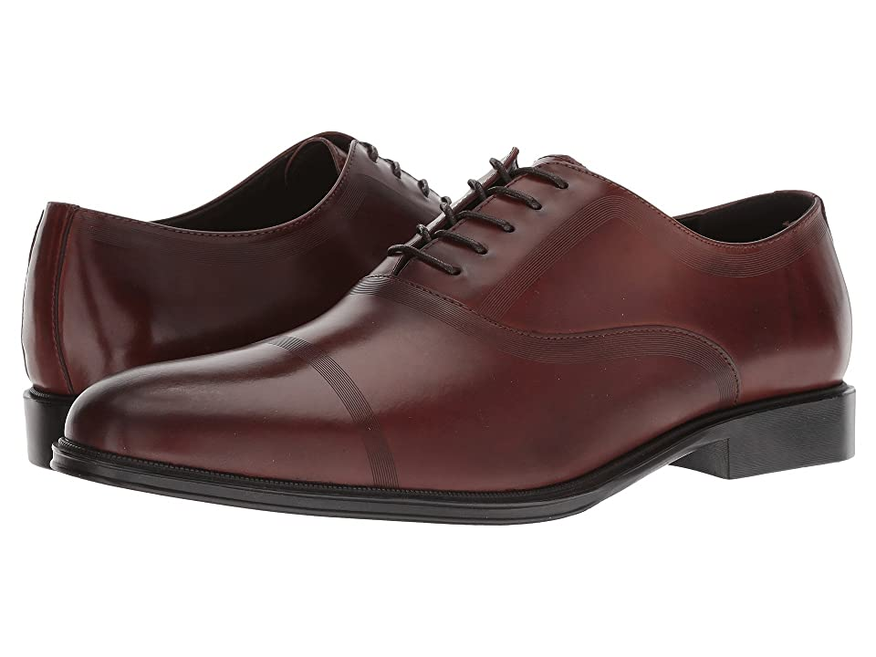 Kenneth Cole Reaction Zac Lace-Up B (Cognac Leather) Men
