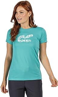 Regatta T-Shirt Technique Manches Courtes Fingal V Léger et Respirant avec Imprimé T-Shirts/Polos/Vests Femme
