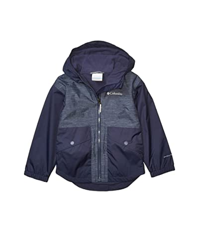 Columbia Kids Rainy Trailstm Fleece Lined Jacket (Little Kids/Big Kids) (Nocturnal) Girl