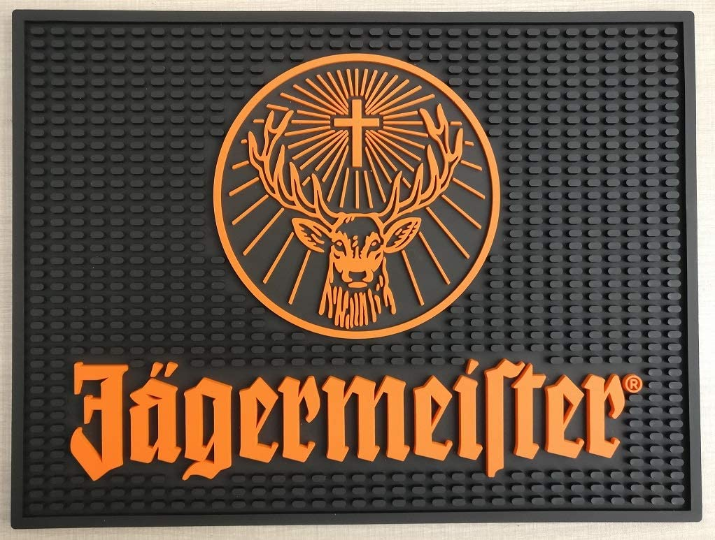 Jagermeister Bar お得セット Mat Professional Spill Station バースデー 記念日 ギフト 贈物 お勧め 通販 Ma Drip Wait