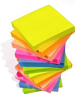 Mega Set di fogli adesivi colorati scrivibili per appunti Sticky Notes Pagermarker ufficio casa autoadesivo 2000 fogli