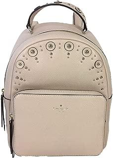 Kate Spade Studded Leather Mini Nicole Backpack, Warm Beige