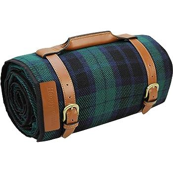 ピクニックマット デラックスソフトフリース レジャーシート 厚手 防水 折り畳み 収納 持ち運び便利 耐久性 200 x 170cm 4-6人用