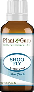 Shoo Fly Essential Oil Blend (Insect, Mosquito, Bug Repellent) 1 oz / 30 ml 100% Pure, Undiluted, Therapeutic Grade. (Blend of: Citronella Oil, Lemongrass Oil, Rosemary Oil, Geranium Oil)