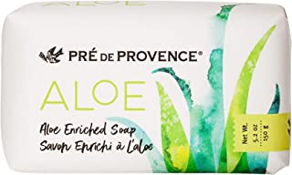 Organic Aloe Collection Hydrating Enriched Daily Bar Soap (5.2oz), Fresh Cucumber Scent