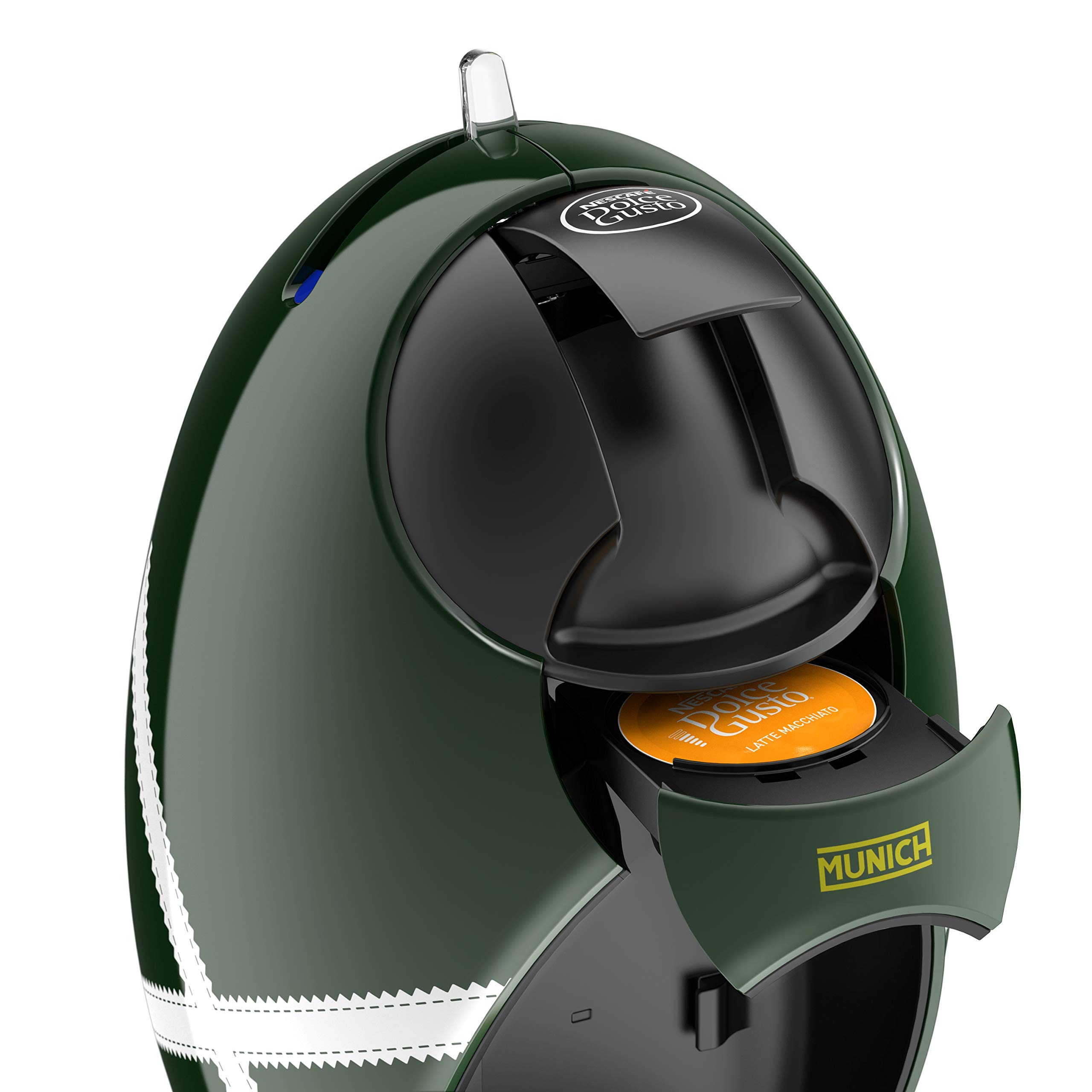 DeLonghi Dolce Gusto Jovia Munich EDG250.GRX - Cafetera de cápsulas, 0.8 L, verde/blanco: Amazon.es: Hogar
