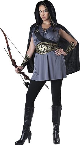 Bogenschützin Kostüm - XXL