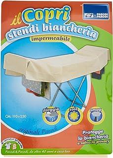 Parodi & Parodi – handduk för tvättställen, 250 x 110 färger alfenben, vattentät, andas Art.280
