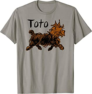 Retro Toto Wizard of OZ Dog Shirt Art Design-Funny Fairytale T-Shirt