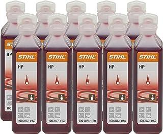 Stihl 7813198401 - Aceite de motor de dos tiempos (escala 1:50, 100 ml, 10 unidades)
