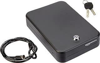 AmazonBasics Portable Security Case Key Lock Box, XL