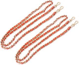Valiclud Lot de 2 sacs à bandoulière en cuir avec chaîne de rechange pour sacs à main et friction