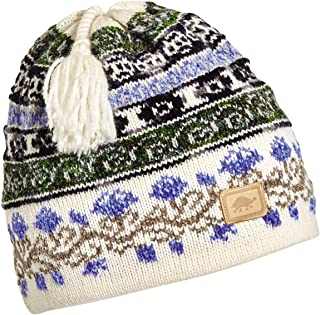 Turtle Fur Women's Lady Fairisle, Classic Wool Ski Tassel Hat