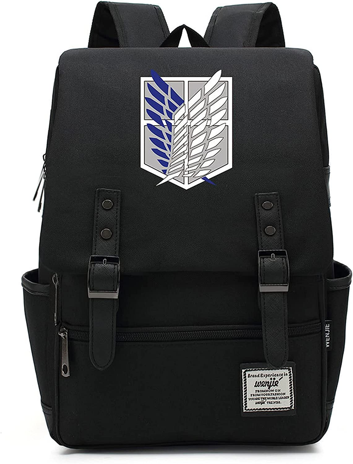 Attack On Titan Backpack-Kids School Limited time trial price Max 44% OFF Backpack Sports Bag Travel