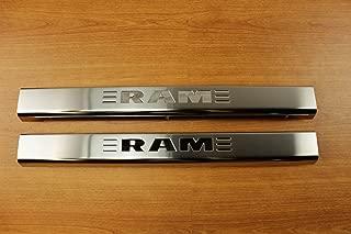 Mopar Dodge Ram Door Sill Guards Plates Stainless Steel OEM