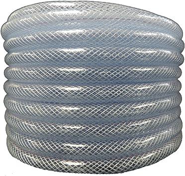 10m de long aux huiles conditionnelles et aux produits chimiques FLEXTUBE TX /Ø 10mm x 3mm /à leau Qualit/é alimentaire tuyau en PVC pour air comprim/é r/ésistant /à lair 3//8
