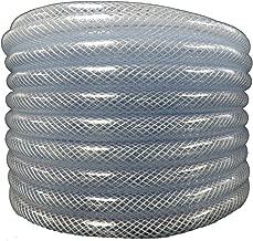 Maxx Flex 1531034100 HydroMaxx Flexible Non Toxic Clear High Pressure, Reinforced, PVC Braided Vinyl Tubing, 3/4