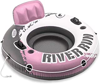 Intex River Run I Inflatable Water Lounge Tube 1-Person, Pink   58828EP