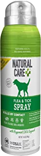 Natural Care Flea and Tick Spray for Dogs and Cats | Flea Treatment for Dogs and Cats | Flea Killer with Certified Natural...