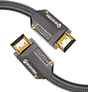 4K HDMI Cable/HDMI Cord 12ft - Ultra HD 4K Ready HDMI 2.0 (4K@60Hz 4:4:4) - High Speed 18Gbps - 28AWG Braided Cord-Ethernet /3D / HDR/ARC/CEC/HDCP 2.2 / CL3 by Farstrider