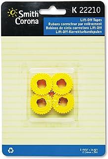 Smith Corona 22210la corrección de elevación cintas de cinta para máquinas de escribir, 2/PACK