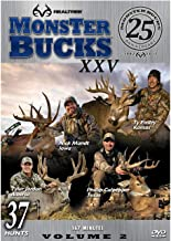 Realtree Monster Bucks XXV - Deer, Elk, Big Game, Hunting Video DVD Collection Production