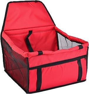 Roblue Hunde Auto Sitz Sicherheit Wasserdicht Mesh Atmungsaktiv Haustier Auto Hund Sitzkissen Matten Doppelt Schicht Tragen Tasche 40cmx30cmx25cm