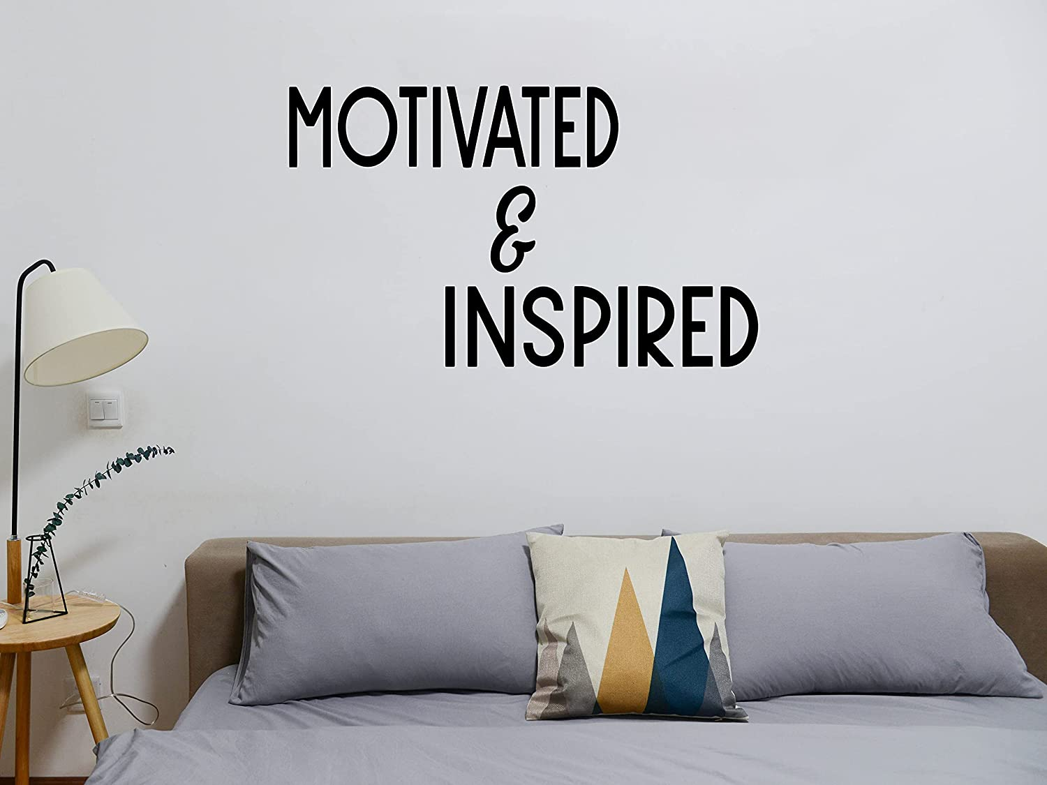 Motivated Inspired Luxury goods Vinyl Sign Decal Home Sticker Car Nippon regular agency for Decor