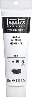 Liquitex Professional Heavy Body Acrylic Paint, 4.65-oz Tube, Mars Black