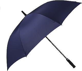 Bolero Ombrello da Pioggia Lungo Golf Antivento, Apertura Automatica per Permetterne L'Uso con Una Sola Mano, Tessuto Pong...