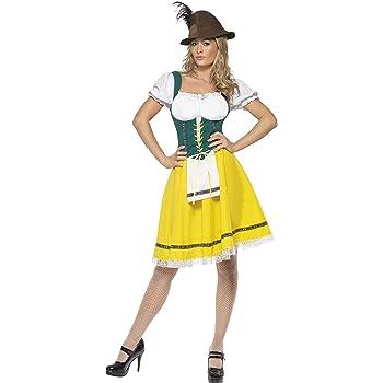 I capelli trecce Donna Da Uomo Oktoberfest Festival Birra Bavarese Heidi Parrucca Costume