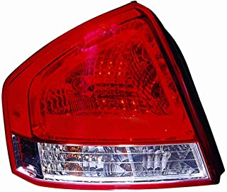 ACK Automotive Kia Spectra Tail Light Assembly Replaces Oem: 92401-2F320 Driver Side