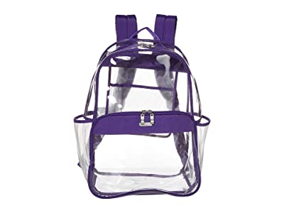 Baggallini Clear Event Compliant Large Backpack (Royal Purple) Backpack Bags
