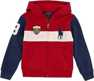 Polo Boys Big Pony Full Zip Hoodie Jacket Sweatshirt
