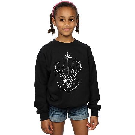 HARRY POTTER niñas Expecto Patronum Charm Camisa De Entrenamiento 12-13 Years Negro