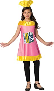Girl's Classic Jolly Rancher Wrapper Watermelon Candy Costume Dress