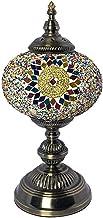 Turkish Moroccan Romantic Table Lamp Handmade Mosaic Glass Desk Lights Tiffany Style Bedside Decorative Accent Night Light...