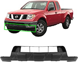 MBI AUTO - Textured, Black Lower Front Bumper Cover Skid Pad for 2005-2018 Nissan Frontier 05-16, NI1015100