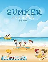 Summer Journal for Kids: Beach Activity Children Writing Notebook Vacation Travel Journal Gift for your Children Girl Boy (Kids Journal Writing) (Volume 4)