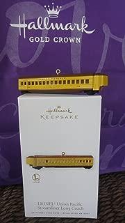 1 X LIONEL® Union Pacific Streamliner Long Coach - 2010 Hallmark Keepsake Ornament